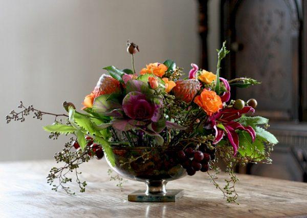 phong cách cắm hoa Dutch style