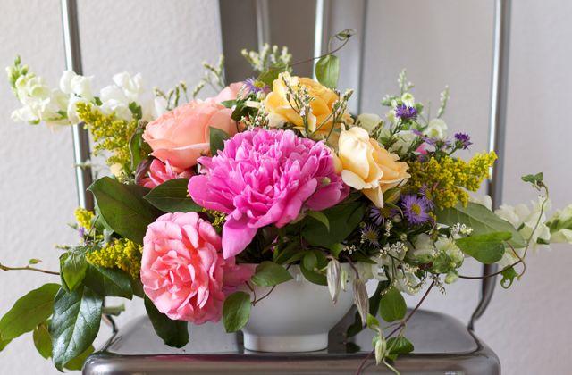 phong cách cắm hoa Garden English xuất phát từ nước Anh