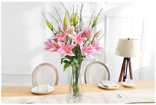 Những loại hoa nên để trong nhà ngày tết - hoa ly